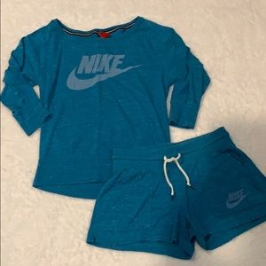 Women's Nike top and short